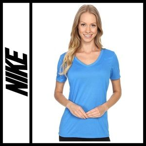 Nike Dri-Fit V Neck training tee NWOT
